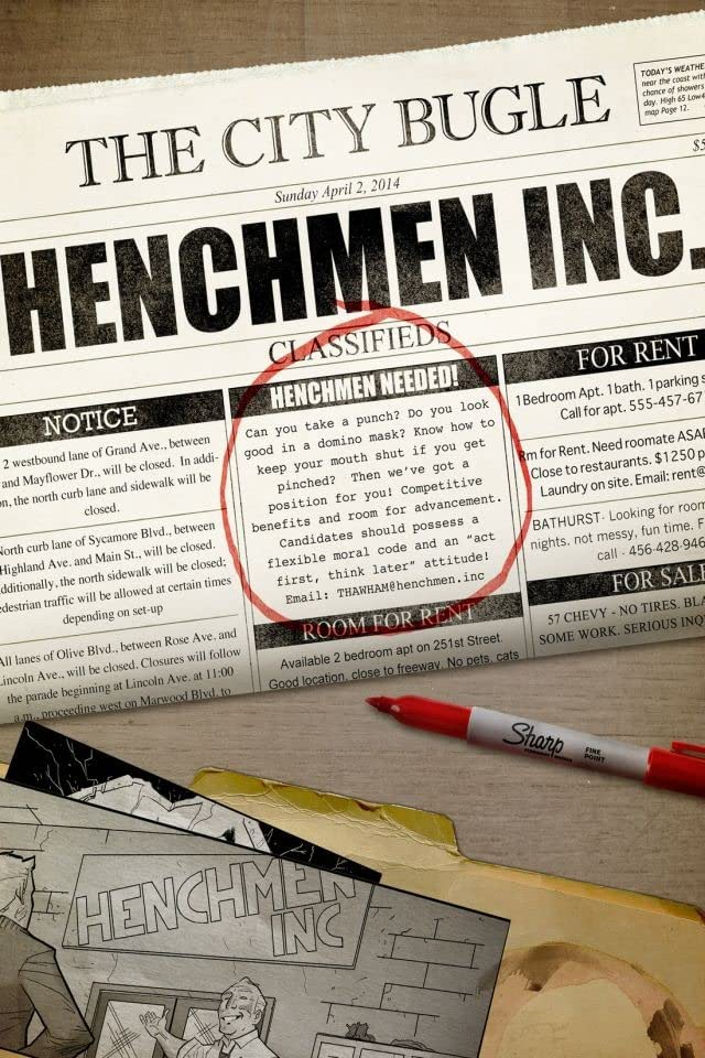 Henchmen, Inc. #1