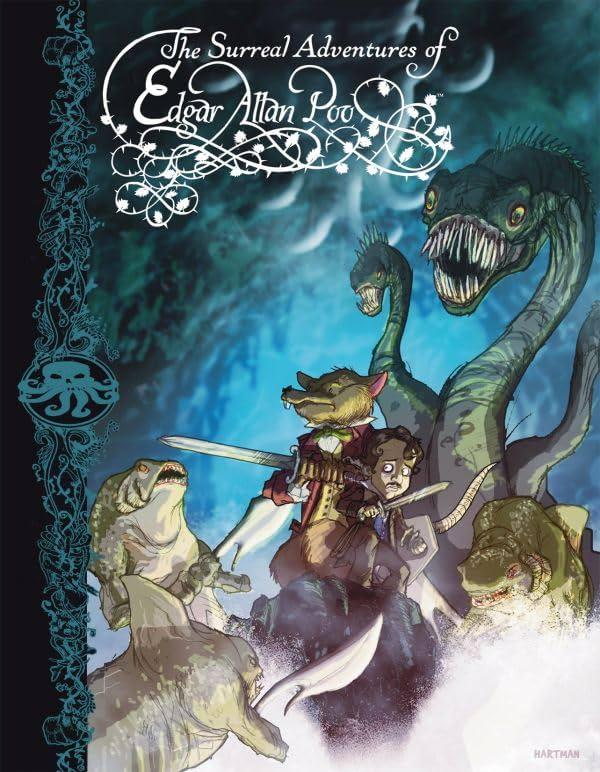 The Surreal Adventures of Edgar Allan Poo Vol. 1