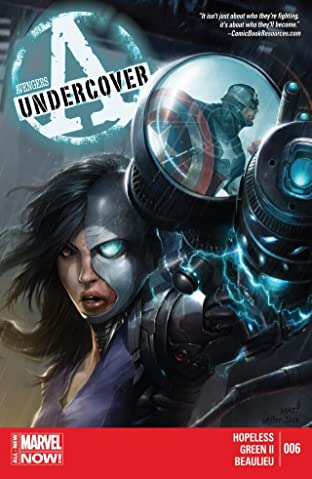 Avengers Undercover No.6