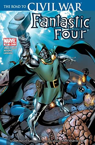 Fantastic Four (1998-2012) No.537