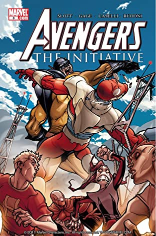 Avengers: The Initiative No.8