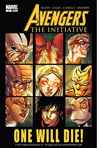 Avengers: The Initiative No.10