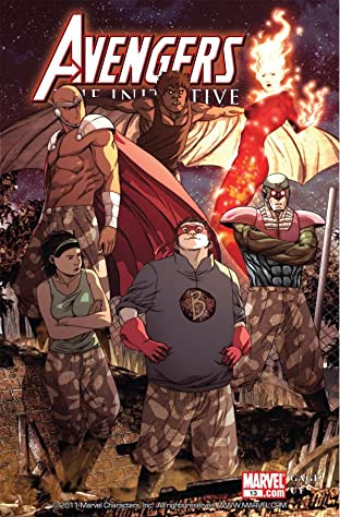 Avengers: The Initiative No.13