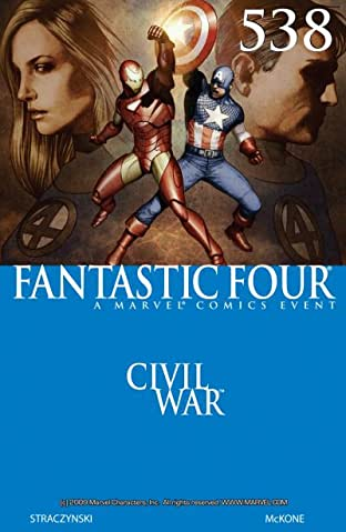 Fantastic Four (1998-2012) No.538