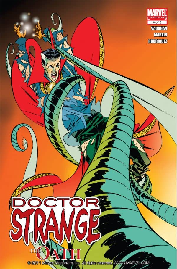 Doctor Strange: The Oath #4 (of 5)