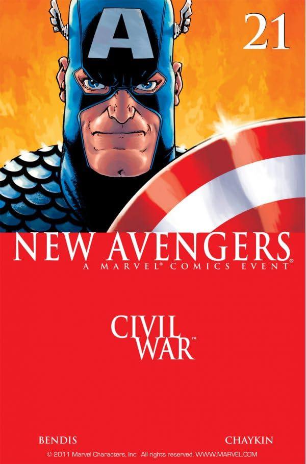 New Avengers (2004-2010) #21