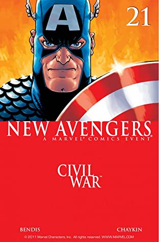 New Avengers (2004-2010) No.21