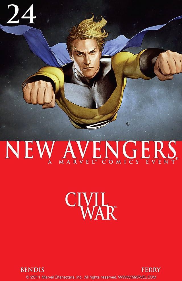 New Avengers (2004-2010) #24