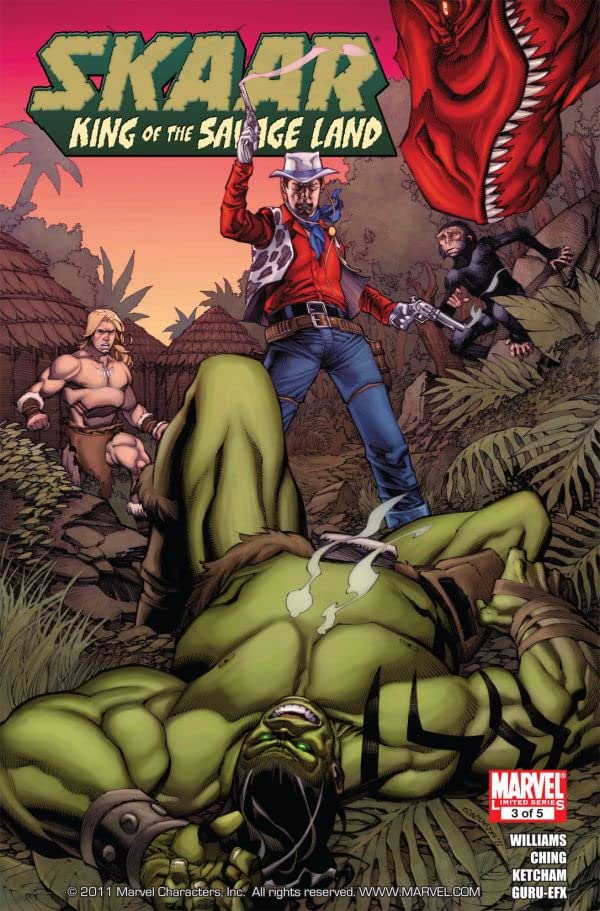 Skaar: King of the Savage Land #3 (of 5)