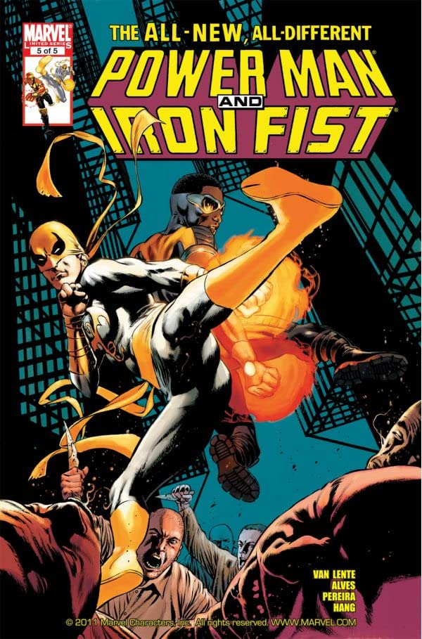 Power Man and Iron Fist (2010-2011) #5 (of 5)