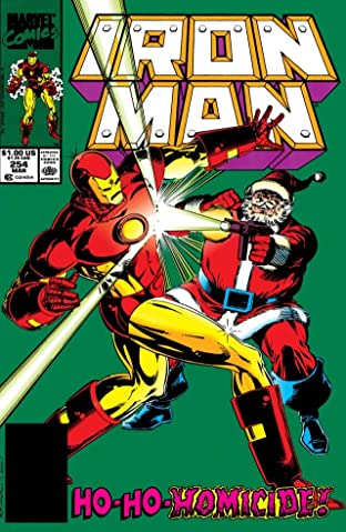 Iron Man (1968-1996) No.254