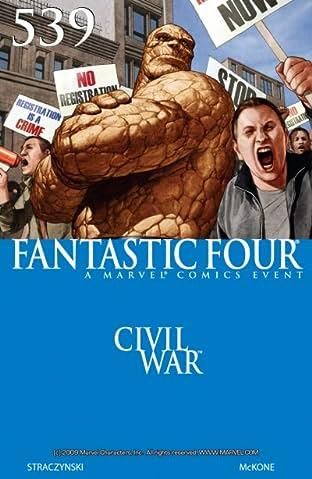 Fantastic Four (1998-2012) No.539
