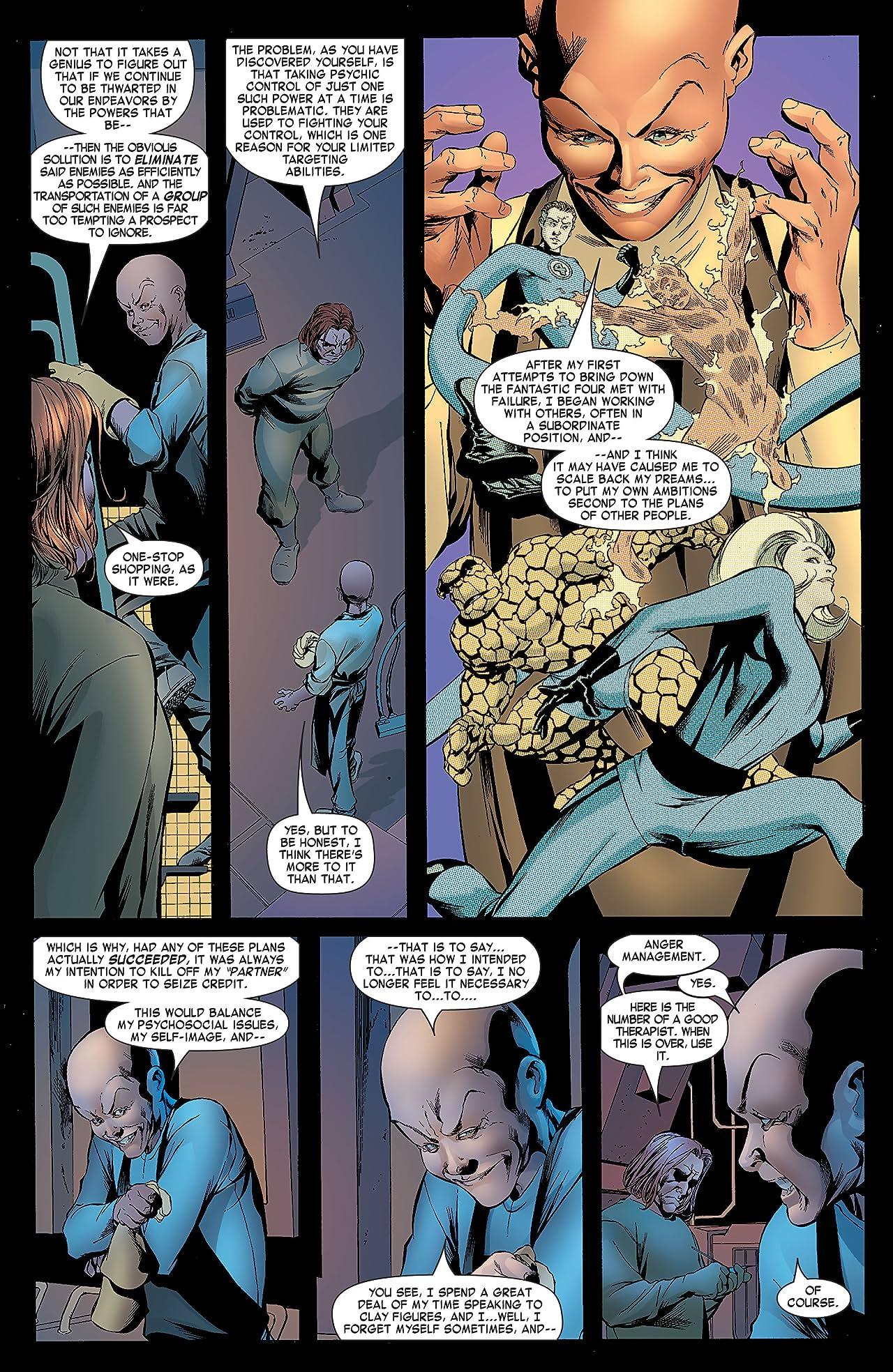 Fantastic Four (1998-2012) #539