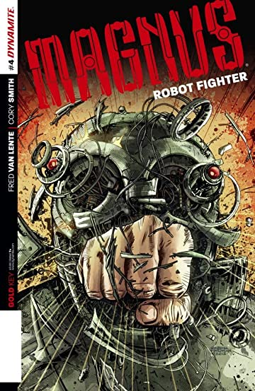 Magnus: Robot Fighter #4: Digital Exclusive Edition
