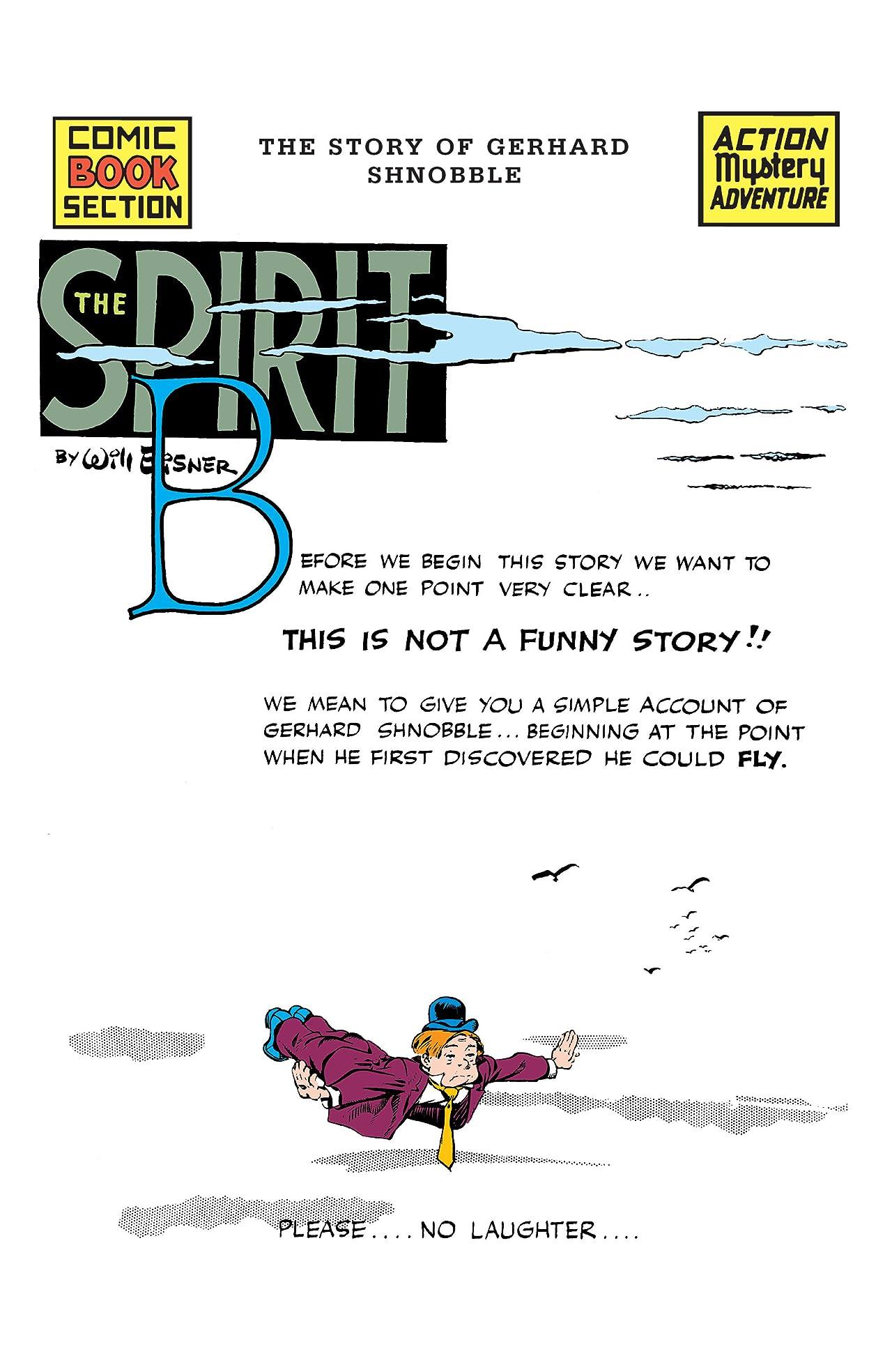 The Spirit #432: Story of Gerhard Schnobble