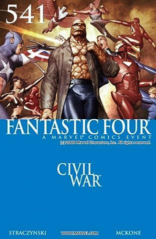 Fantastic Four (1998-2012) #541