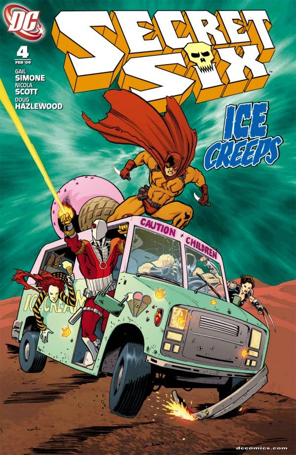 Secret Six (2008-2011) #4