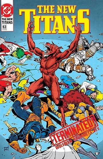 The New Titans (1984-1996) #63