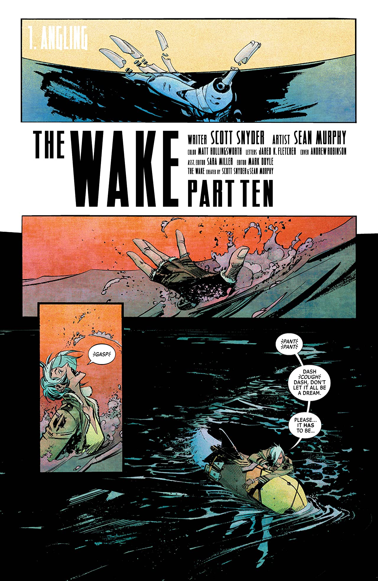 The Wake #10 (of 10)