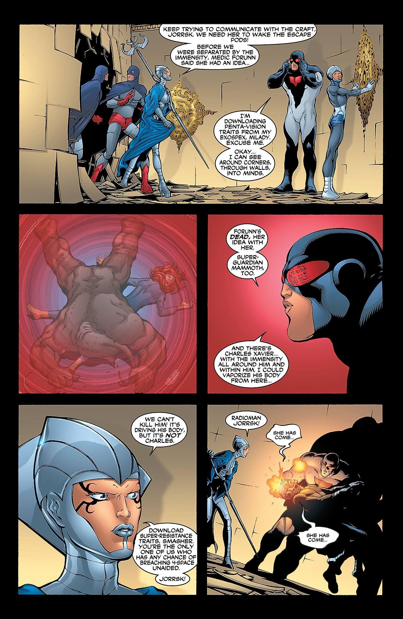 New X-Men (2001-2004) #122