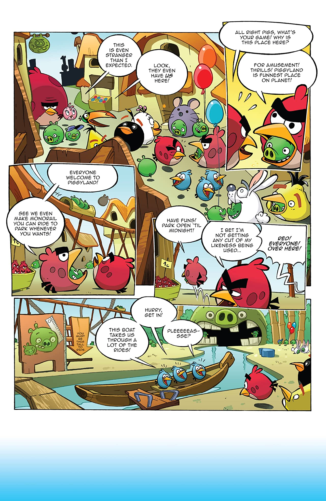Angry Birds #2: Mini-Comic #3
