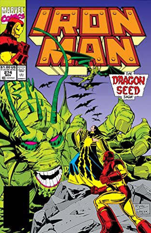 Iron Man (1968-1996) No.274