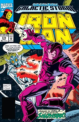 Iron Man (1968-1996) No.278