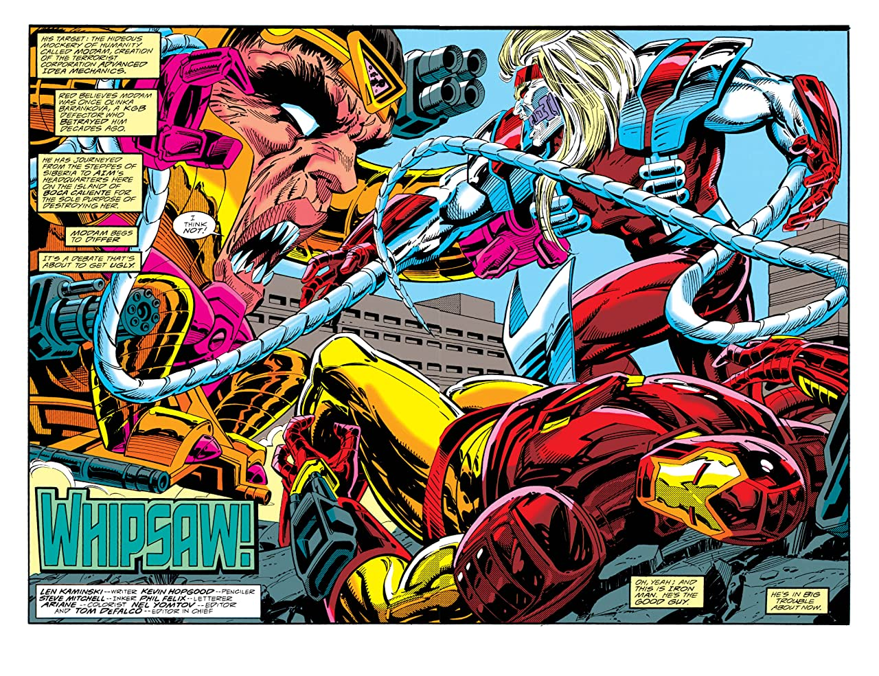 Iron Man (1968-1996) #297