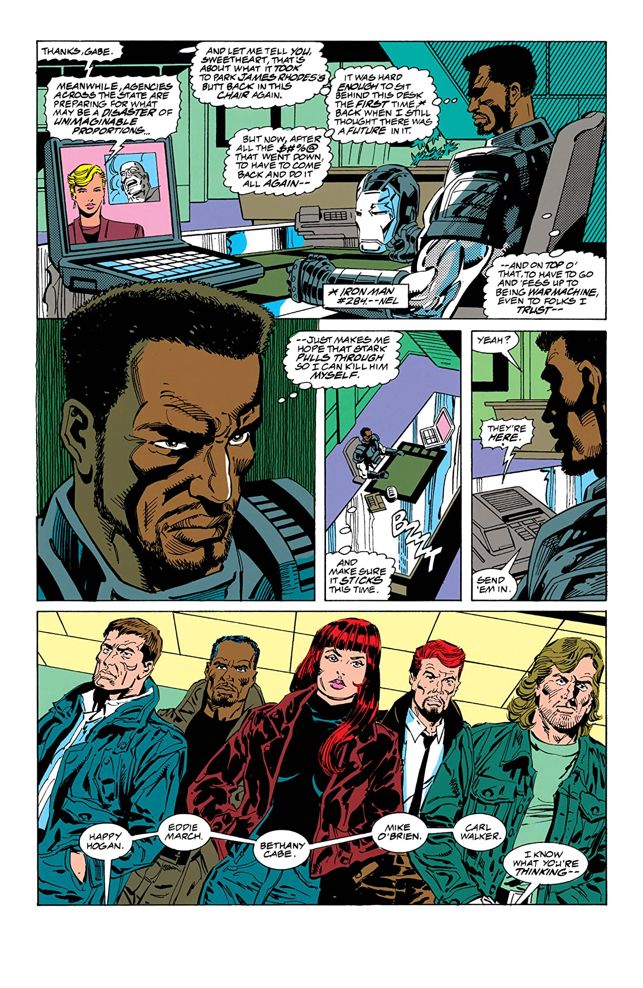 Iron Man (1968-1996) #300