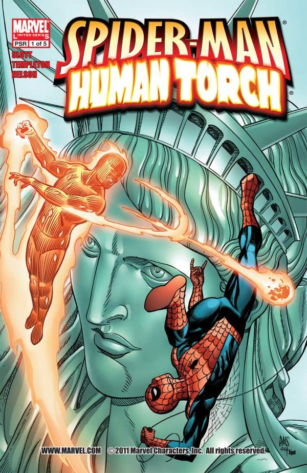 Spider-Man/Human Torch #1