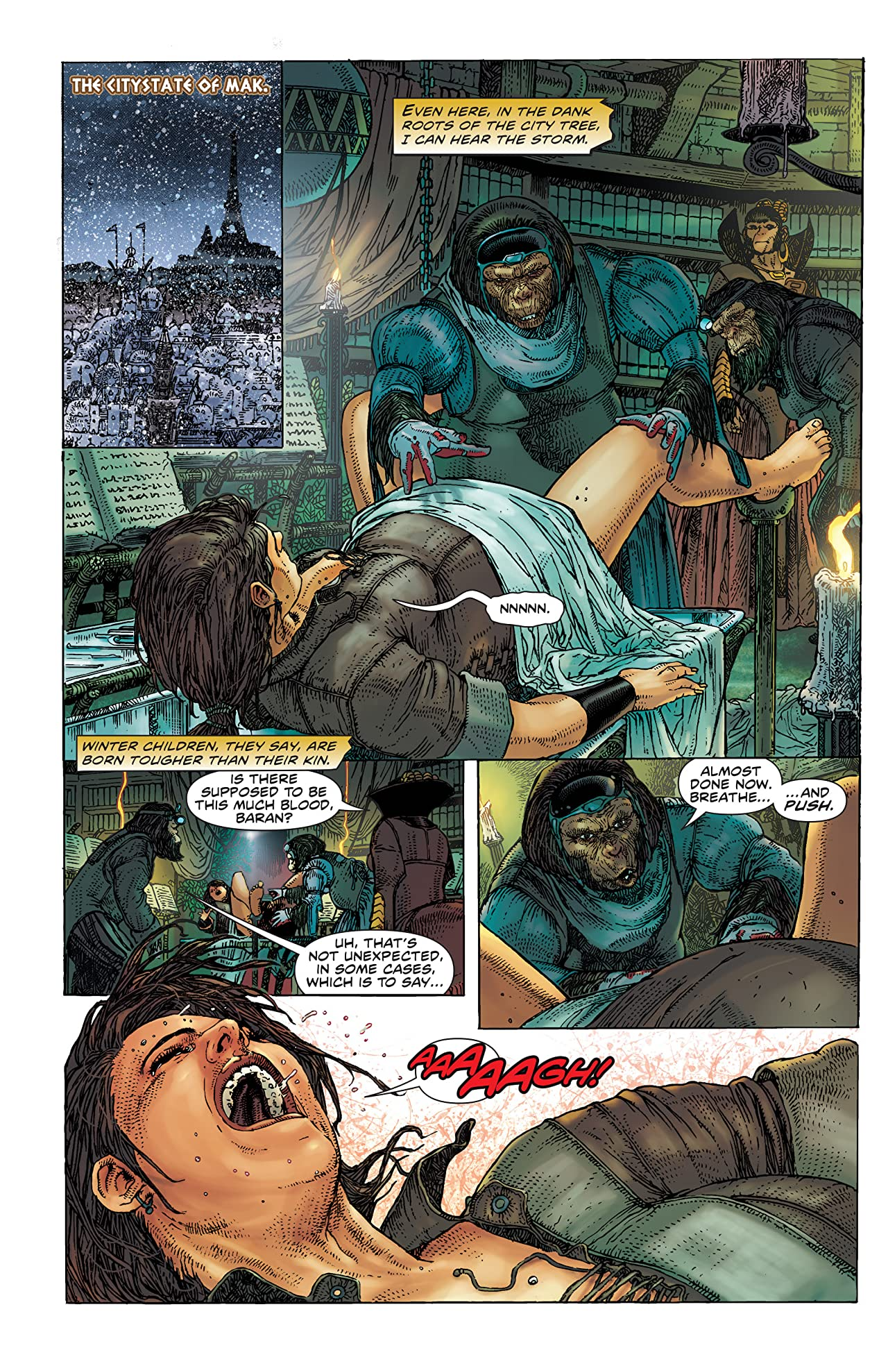 Planet of the Apes #11