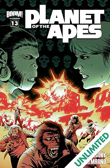 Planet of the Apes #13