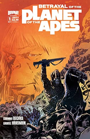 Betrayal of the Planet of the Apes #1