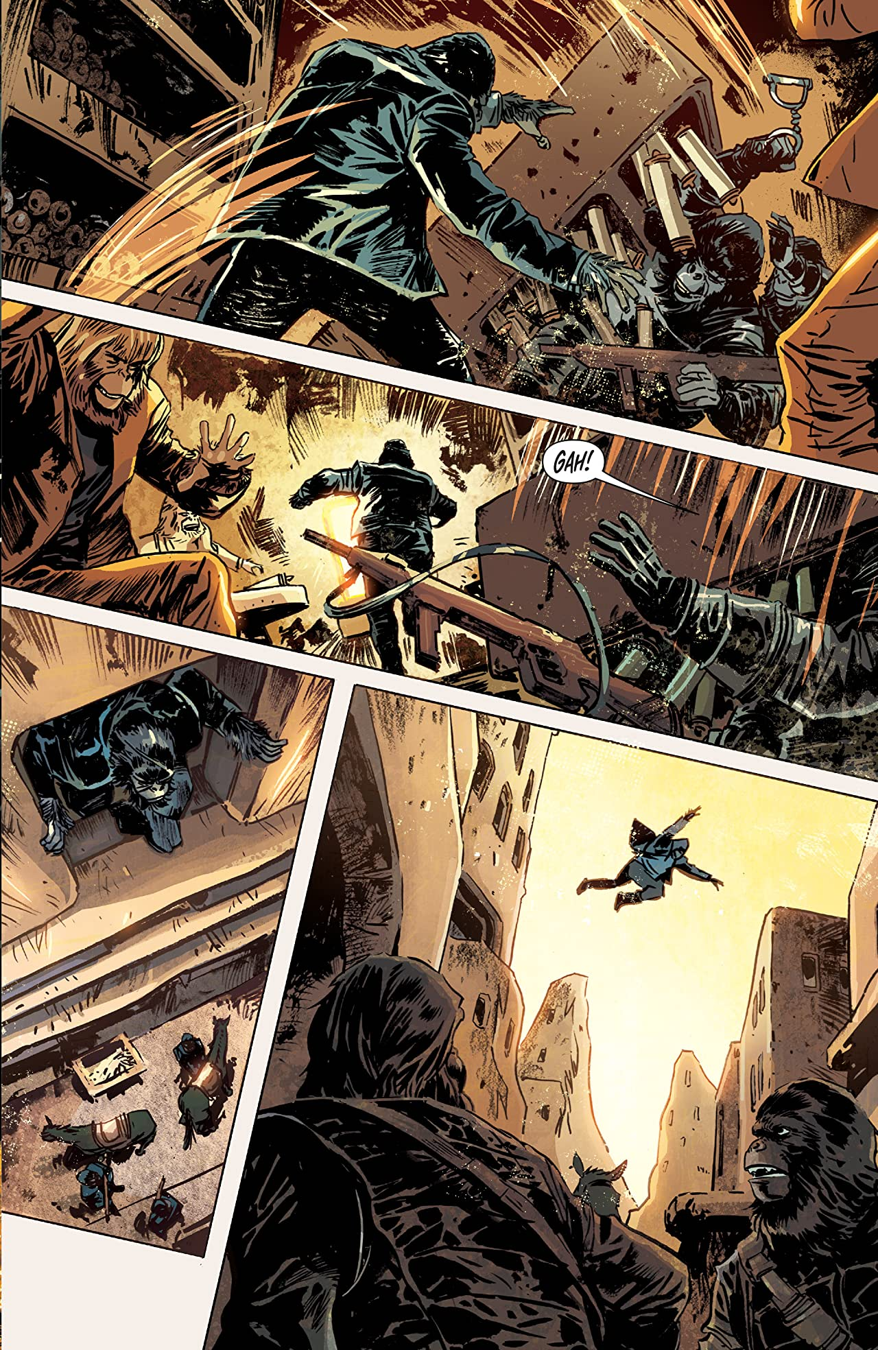 Betrayal of the Planet of the Apes #2