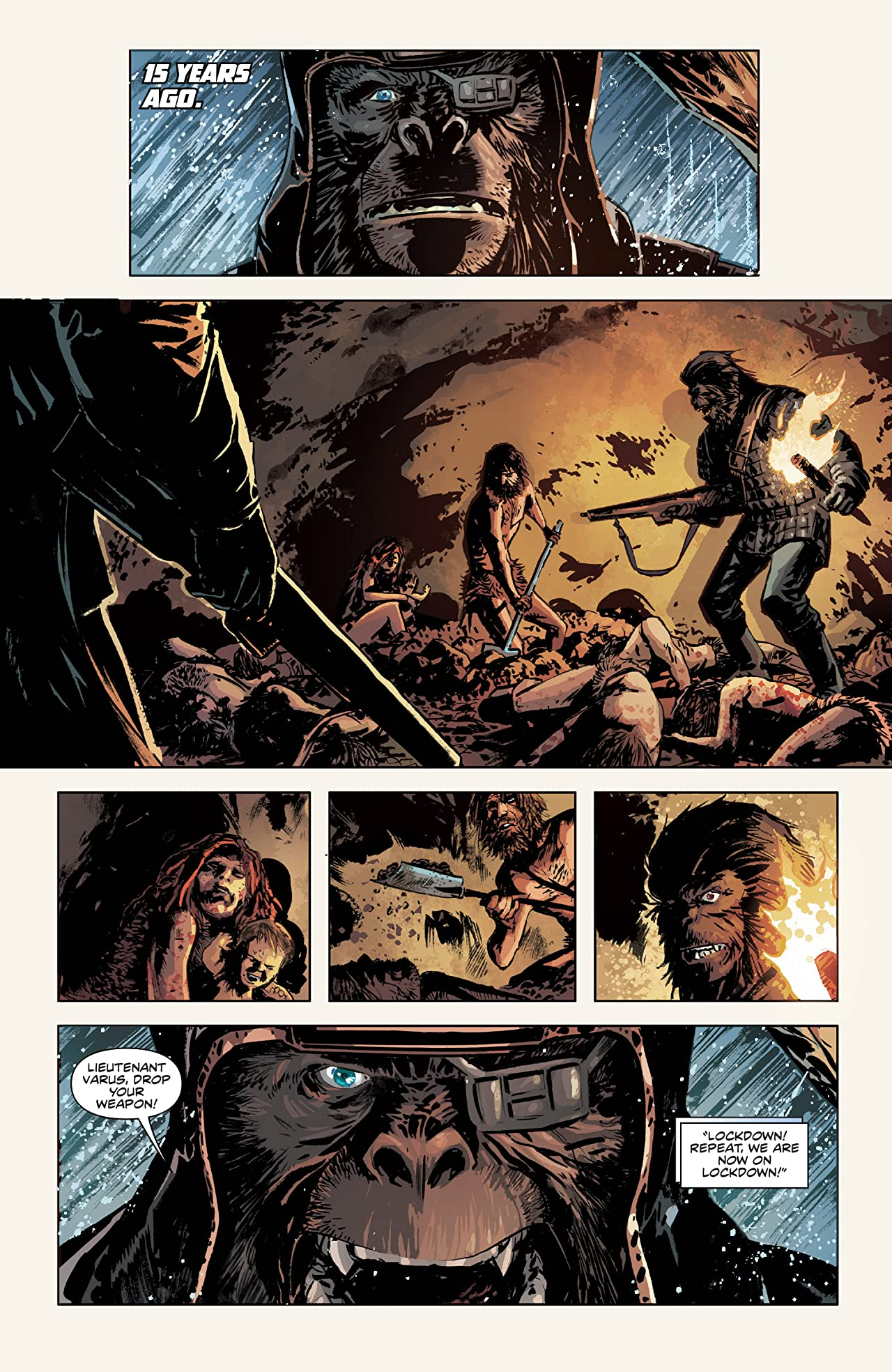 Betrayal of the Planet of the Apes #3