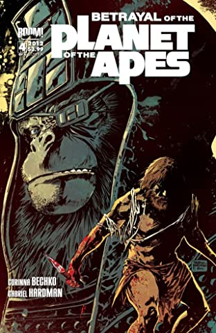 Betrayal of the Planet of the Apes No.4