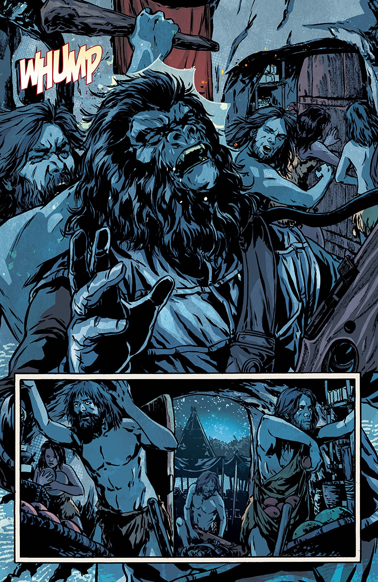 Exile on the Planet of the Apes #1