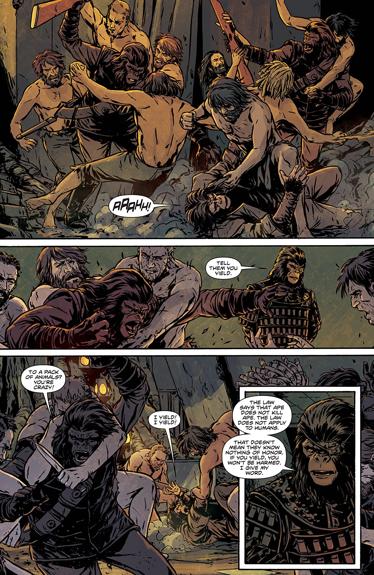 Exile on the Planet of the Apes #3