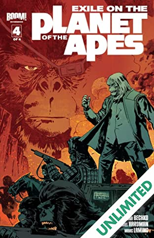 Exile on the Planet of the Apes #4