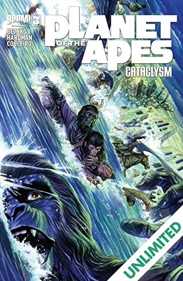 Planet of the Apes: Cataclysm #3