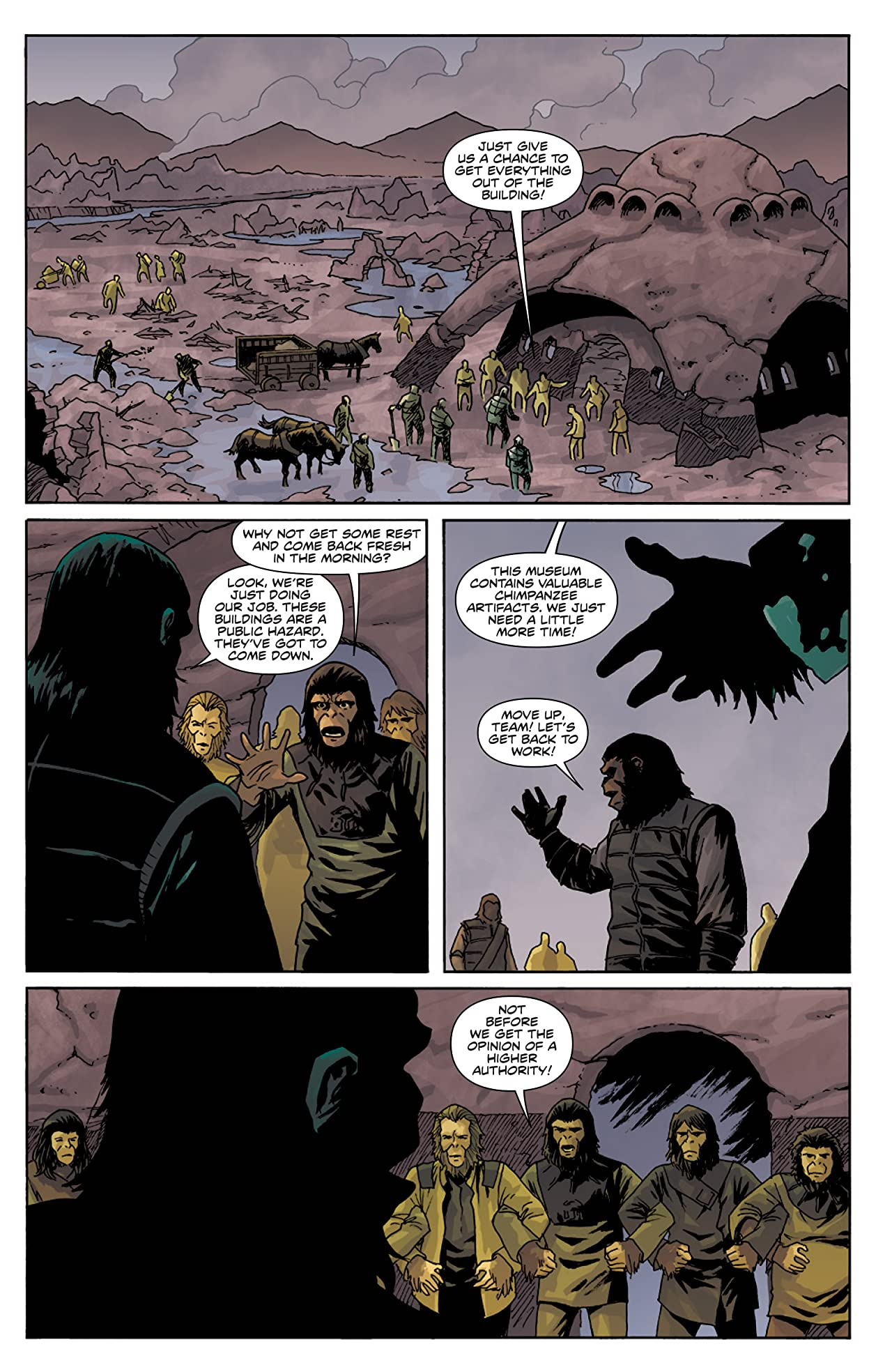 Planet of the Apes: Cataclysm #5
