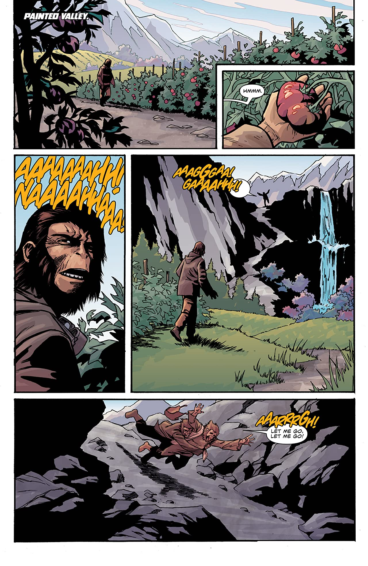 Planet of the Apes: Cataclysm #6