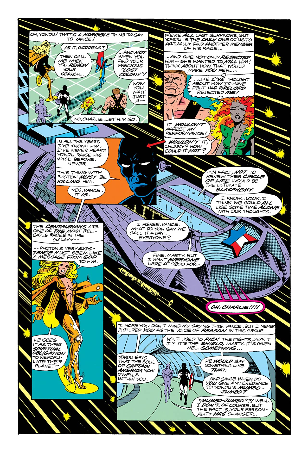 Guardians of the Galaxy (1990-1995) #8