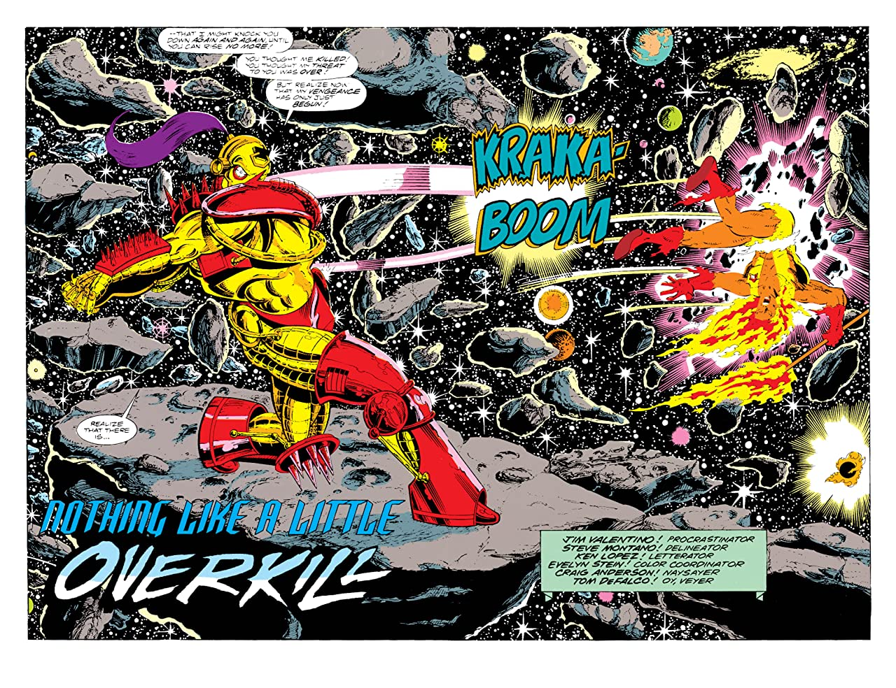 Guardians of the Galaxy (1990-1995) #12