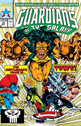 Guardians of the Galaxy (1990-1995) #19