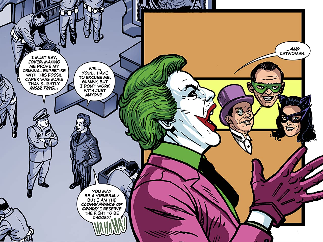Batman '66 Meets The Green Hornet #4