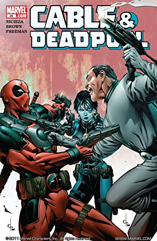 Cable & Deadpool No.28