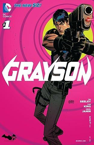 Grayson (2014-2016) No.1