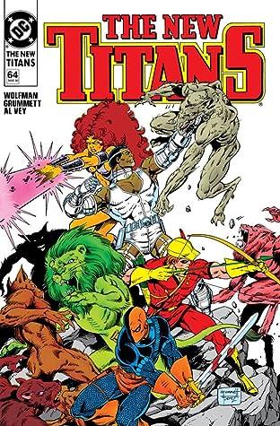The New Titans (1984-1996) #64