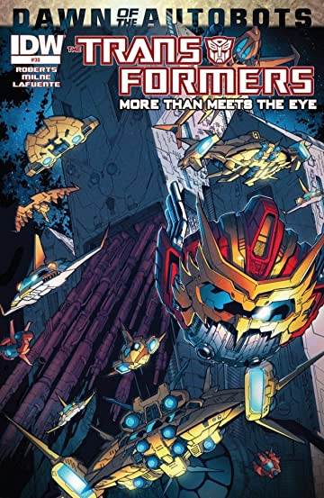 Transformers: More Than Meets the Eye (2011-2016) #30: Dawn of the Autobots